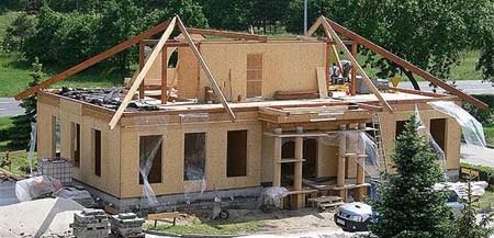 дом из деревянного каркаса г.Рязань